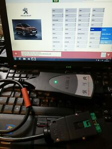 Lexia 3 Pp2000 Diagnostic Laptop Twist Interface Citroen Peugeot Diagbox V9 68