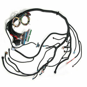For 03 07 Vortec W 4l60e Standalone Swap Wiring Harness dbw Ls1 Intake Seat