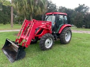 Tym 90hp 4x4 Cab Tractor Loader