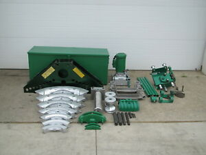 Greenlee 885 Hydraulic 1 1 4 5 Rigid Pipe Bender W 960 Pump 1802 Table