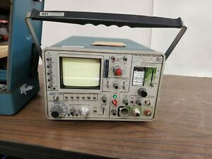 Tektronix Tek 491 Spectrum Analyzer 10 Mhz To 40 Ghz With Accessories