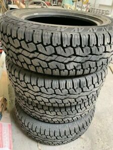 4 Take Off Armstrong Tru Trac At 225 65r17 102h A T All Terrain Tires Only 2k