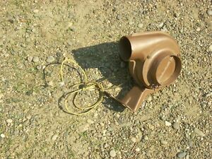 Vintage 6 Volt Car Or Truck Heater Or Defrost Blower Assy 1930 s 1940 s Ford Gm