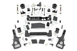 Rough Country 5in Ram Lift Kit W v2 Shocks 19 20 Ram 1500 4wd air Ride