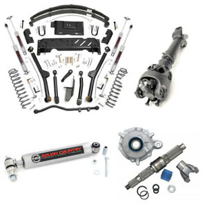 For Rough Country 4 5 In Complete Long Arm Lift Kit W sye For Cherokee Xj 84 01