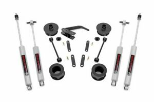 Fits Rough Country 2 5in Jeep Premium Suspension Lift Kit 07 18 Wrangler Jk