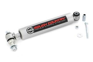 Rough Country Heavy Duty Steering Stabilizer For Jeep Tj Yj Xj Wj Zj Mj