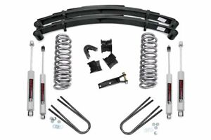 Rough Country 4in Ford Suspension Lift System 78 79 Bronco 4wd