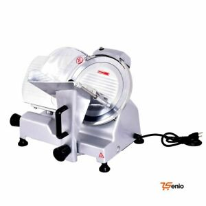 Commercial Meat Slicer Electric Blade Deli Meat Cheese Food Slicer Cutter 10
