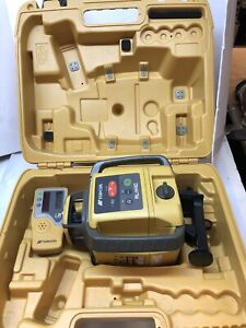 Topcon Rl h4c Self leveling Laser Rb Kit With Ls 80l Receiver