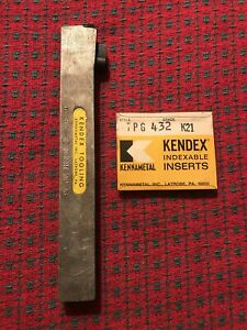 Kennametal Indexable Tool Holder Ktcn 644c 3 4 X 1 x 8 Shank Inserts