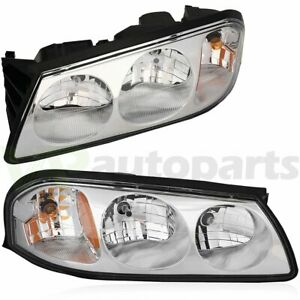 Headlights Assembly Fits 2000 2005 Chevy Impala Gm2502201 gm2503201 Light Pair
