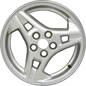 Refinished Silver 15x6 Wheel Rim For 2003 2005 Pontiac Sunfire 15