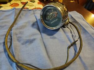 1960 s Pontiac Console Vacuum Gauge Tempest Gto Lemans Rat Rod Hot Rod Custom
