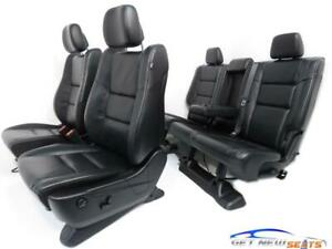Jeep Grand Cherokee Black Leather Front Seats Rear Seats 2014 2019