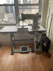 Industrial Cylinder Sewing Machine Seiko It Comes With An Additional Table