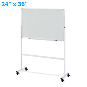 Double Sided 36 X 24 Dry Erase Board Stand Magnetic Whiteboard Office Supplies
