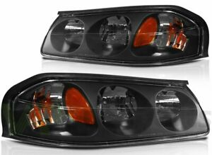 For 2000 2005 Chevy Impala Headlight Assembly Front Driver Passenger Sides