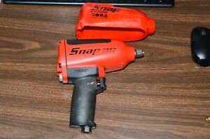 Snap On Mg725 1 2 Heavy Duty Air Impact Wrench Gun Classic Snap On Red