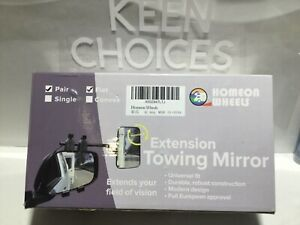 Universal Extension Towing Side Mirror Adjustable Truck Suv Rv Pair