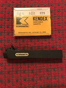 5 8 Indexable Tool Holder Lathe Kennametal Ksbr 103c Ins Sp 32 W 20 Inserts