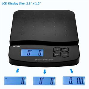 Postal Scale Digital Shipping Electronic Mail Packages Capacity Of 30kg 66lb Usa