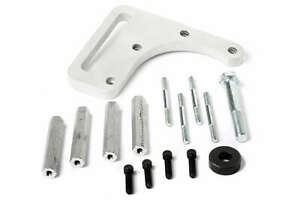 Weiand Supercharger Idler Pulley Bracket Satin For 6 71 Chevy Bb