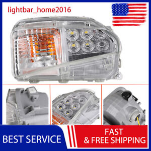 New For 2012 2013 2014 2015 Toyota Prius Fog Lamp Led Drl Light Lh Driver Marker