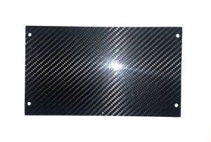 Ford Mustang Real 100 Carbon Fiber 87 93 Radio Delete Panel