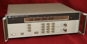 Agilent hp 5350b Microwave Frequency Counter