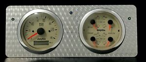 1940 1941 1942 1943 1944 1945 1946 1947 Ford Truck Gauge Dash Gps Engine Turned