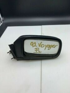 1992 Plymouth Voyager Oem Manual Side View Mirror Passenger Rh