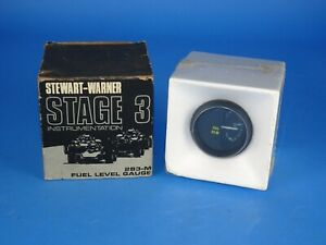 Stewart Warner Stage Iii 3 Fuel Level Gauge Nos