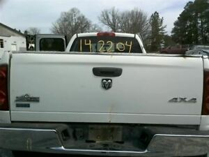 Trunk hatch tailgate Without Spoiler Fits 03 09 Dodge 2500 Pickup 282402
