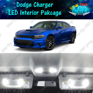 17x White Interior Led Lights Package Kit For 2011 2019 2020 Dodge Charger