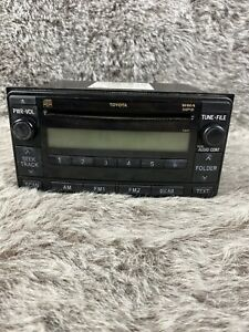 Toyota Yaris Oem Am Fm Radio Cd Player 86120 52490 excellent