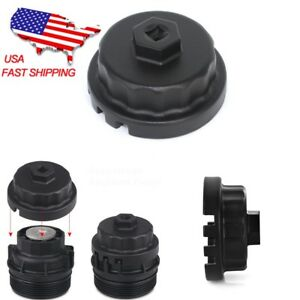 Oil Filter Cup Wrench Tool Remover For Toyota Lexus V6 V8 Engine Camery Sienna
