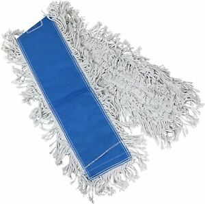 Tricol 38489 Launderable Replacement Dust Mop Head Cotton 5 5 X 48 inch
