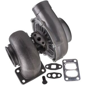 T70 Universal Turbocharger 70 A R T3 V Band Flange Oil Cooled 600 Hp