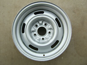 Gm Oem Rally Wheel 15x7 Code Fw Chevy Chevelle Camaro Nova