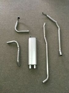 1964 1965 1966 Ford Mustang Complete 6 Cylinder 200 170 Stock Exhaust System
