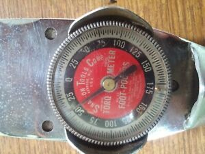 Vintage 1 2 Drive Snap on Torque Wrench Model Te 175 foot Pounds