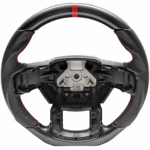 Handkraftd 2015 20 Ford F250 F 250 Steering Wheel Matte Dry Hydro Carbon Red