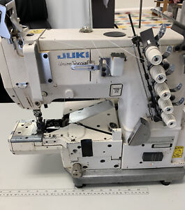 Juki Union Special Coverstitch Industrial Sewing Machine And Table