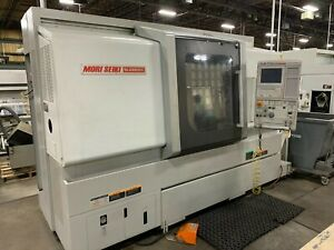Mori Seiki Nlx 2500y 700 Cnc Lathe used New 2012 Tailstock Tooling Mapps