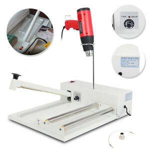 12 Shrink Wrap Machine Food Film Wrapping Heat Sealer System With Heat Gun