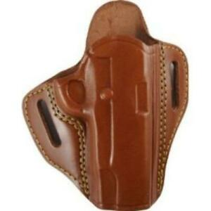 Gould Goodrich 800 194 Open Top Two Slot Rh Chestnut Holster For 1911