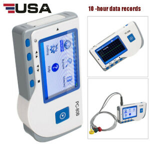 Medical Ecg Electrocardiogram Heart Rate Monitor Record Machine Single Channel