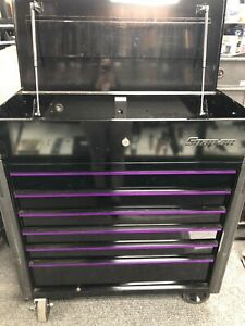 Snap On Krsc46hzbn Black With Purple Accent Tool Box A X