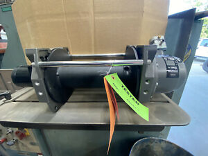 Warn Series 9 Industrial Hydraulic Winch With Air Clutch 9 000 Lb 86878